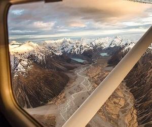 adventure, airplane, and beautiful image