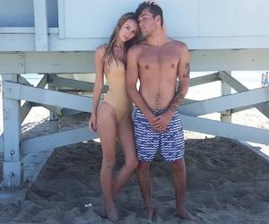 beach, models, and luke davis image