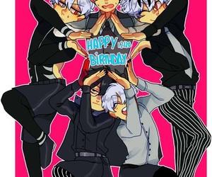 anime boy, tokyo ghoul, and sasaki haise image