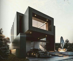 black, goals, and house image