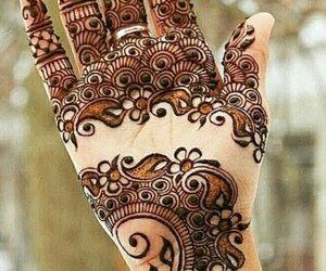 bridesmaid, mehndi, and design image