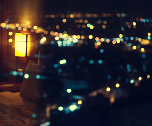 light, night, and city image