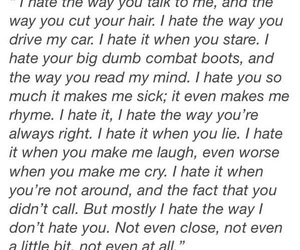 10 things i hate about you, cry, and hate image