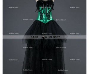 gothic dress, corset gothic dress, and gothic party dress image