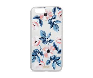 case, electronics, and floral image