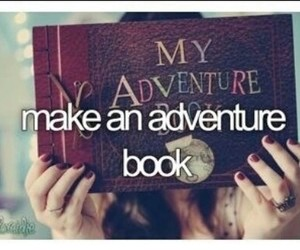adventure, book, and bucket list image