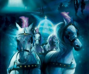 cinderella, horse, and disney image