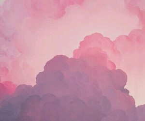 beautiful, cloud, and pink image