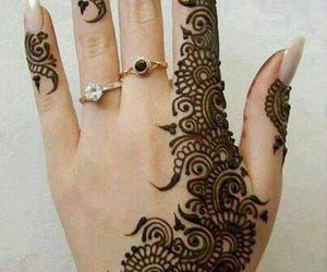 henna, design, and art image