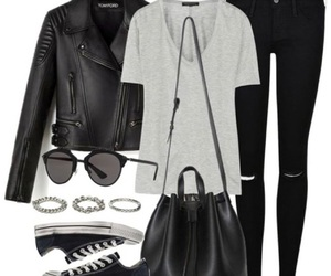 black, black style, and cool image