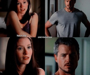 mark and lexie, always, and grey's anatomy image