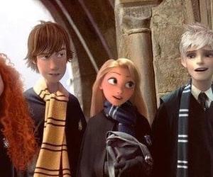 rapunzel, harry potter, and disney image