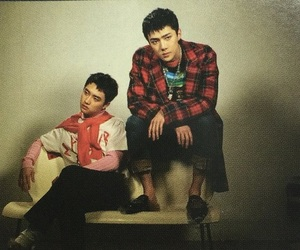 exo, sehun, and kyungsoo image