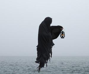 dark, black, and death image