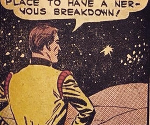 space, breakdown, and comic image
