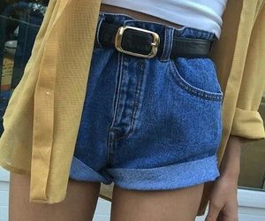 90s, booty shorts, and outfits image