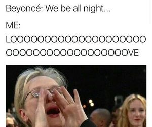 funny, meryl streep, and queen bey image