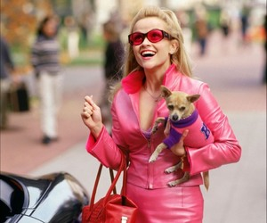 legally blonde, pink, and Reese Witherspoon image