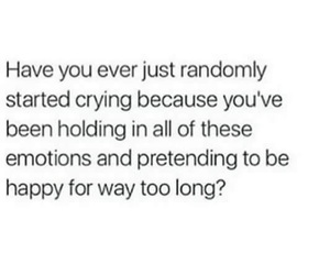 anxiety, black, and crying image
