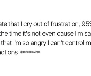 anger, crying, and emotions image