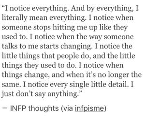 thoughts, infp, and tumblr image
