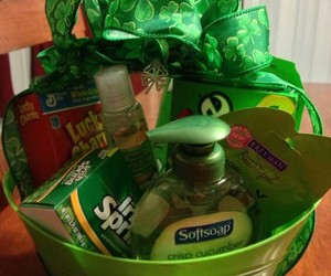 basket, gift, and st. patrick's day image