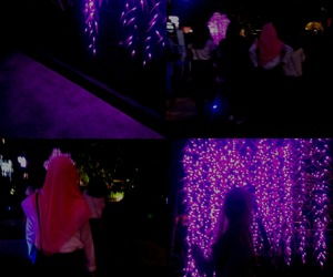 alternative, neon, and girl image