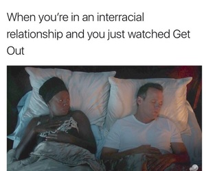 couple, interracial, and movie image
