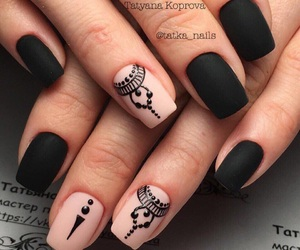 nails, style, and nailart image