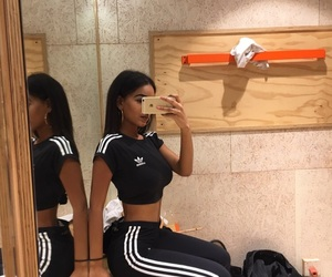 adidas, ass, and girl image