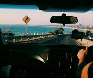 road, summer, and travel image
