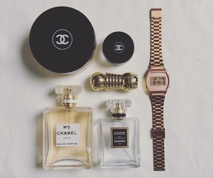 black, casio, and chanel image