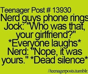 teenager post, nerd, and funny image