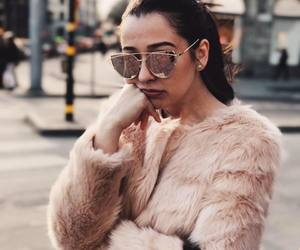 city, model, and fashion image