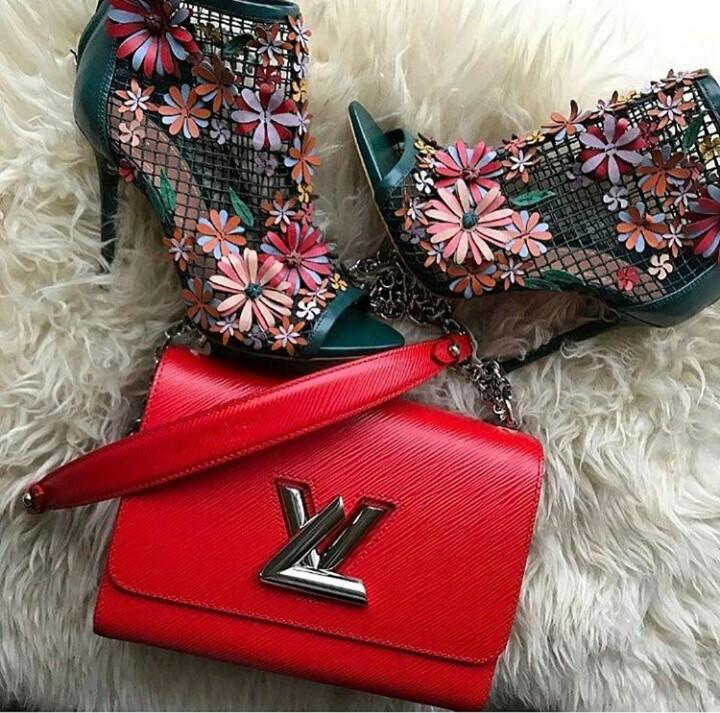 bag, heels, and purse image
