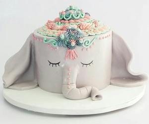 bakery, cake, and elephant image