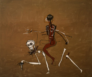 basquiat and riding with death image