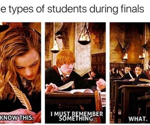 exam, harry potter, and hermione granger image