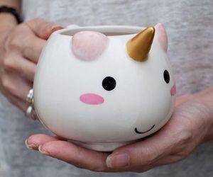 unicorn, cup, and mug image