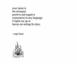 rupi kaur, quotes, and milk and honey image