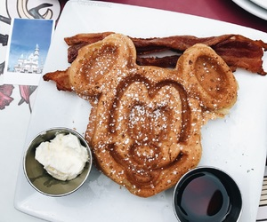 breakfast, disney, and disneyland image