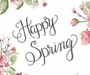 spring and welcome spring image