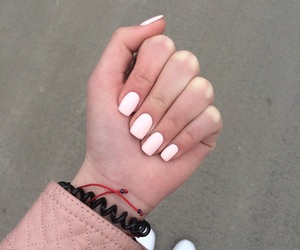 lovely, nails, and pink image