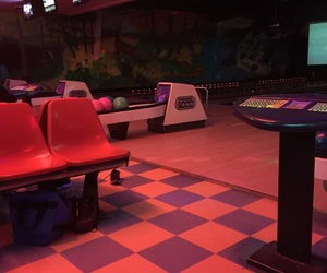 bowling, games, and lights image