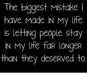 quote, life, and mistakes image