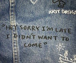 grunge, quotes, and jeans image