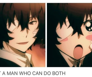 bungou stray dogs, anime, and funny image