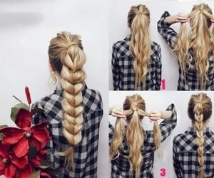 chic, hair, and girl image
