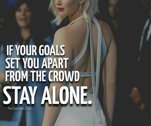 goals, quotes, and success image