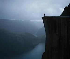 alone, dark, and nature image